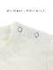 【予約商品】太陽に当たると昆虫ゲット!?お空にとんぼTシャツ ホワイト オーガニックコットン使用