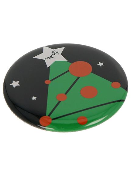 【INSECT MARKET&歌舞伎座限定】クリスマスコンパクトミラー ブラック