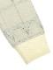 KODOMO プラチナジャガード織Green House 再生素材ニット blanc