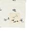 抗ウイルス・抗菌・防汚・消臭 昆虫サインモノグラム マスクケース ホワイト オーガニックコットン使用