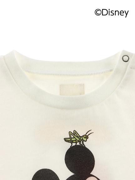 インセクトコレクション限定 DisneyデザインTシャツ<Mickey&Grasshopper> オーガニックコットン使用