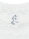 【予約商品】KODOMO Nombre プリント100%再生ペットボトルTシャツ タマムシ12 blanc【2月中発送予定】