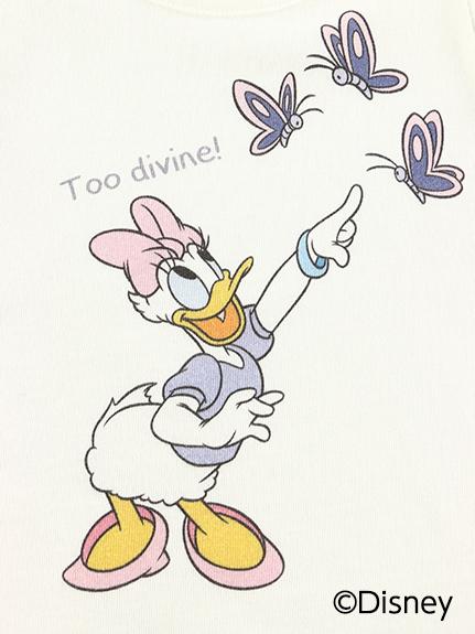 インセクトコレクション限定 DisneyデザインTシャツ<Daisy&Butterfly> オーガニックコットン使用