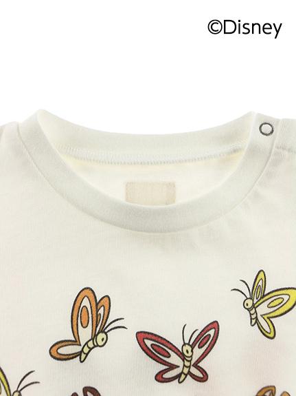 インセクトコレクション限定 DisneyデザインTシャツ<Chip'n Dale&Butterfly> オーガニックコットン使用