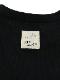 【安全対策に!】光が反射する昆虫リフレクターブランドロゴTシャツ ブラック オーガニックコットン使用