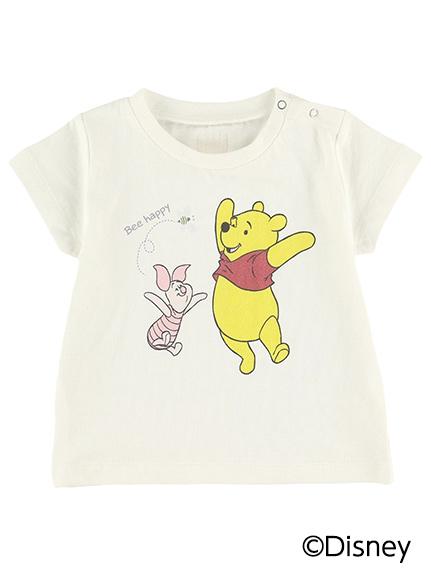 【予約商品】インセクトコレクション限定 DisneyデザインTシャツ<Pooh&Piglet&Bee> オーガニックコットン使用【6月中旬発送予定】
