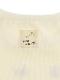 【安全対策に!】光が反射する昆虫リフレクターブランドロゴTシャツ ホワイト オーガニックコットン使用
