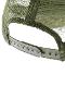ロゴメッシュキャップ(カマキリサイン入り) カーキxホワイト キッズ