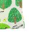 昆虫フォレストTシャツ グリーン オーガニックコットン使用