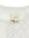太陽に当たると昆虫ゲット!?フラワー虫かごTシャツ ホワイト オーガニックコットン使用