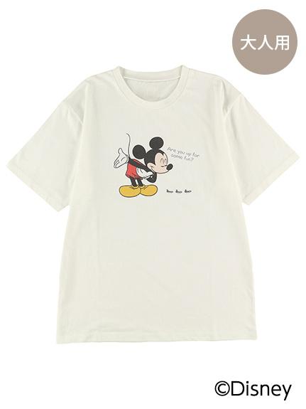 【予約商品】大人も!インセクトコレクション限定 DisneyデザインTシャツ<Mickey&Ants> オーガニックコットン使用【6月上旬発送予定】