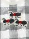 抗ウィルスなど高機能!ビッグギンガムさがら刺繍ワッペンTシャツ オーガニックコットン使用