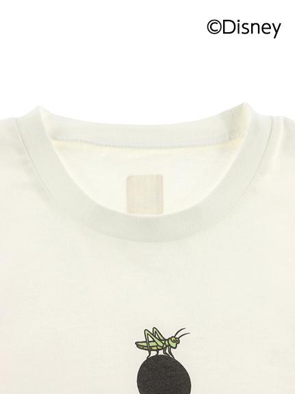 【予約商品】大人も!インセクトコレクション限定 DisneyデザインTシャツ<Mickey&Grasshopper> オーガニックコットン使用【6月上旬発送予定】