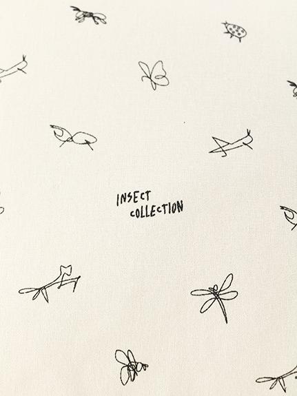 昆虫サインモノグラム 2WAYマルシェバッグ