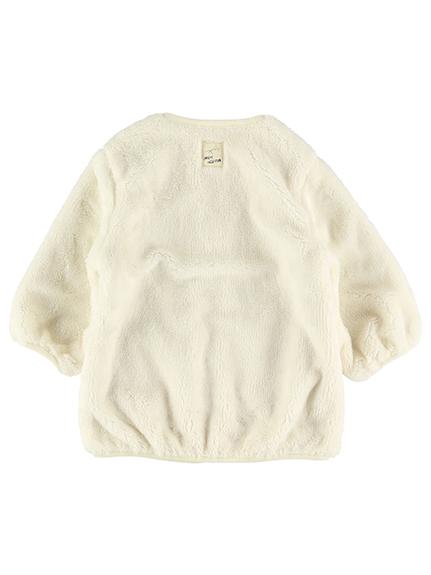 カイコガ・エコファージャケット ミルクホワイト