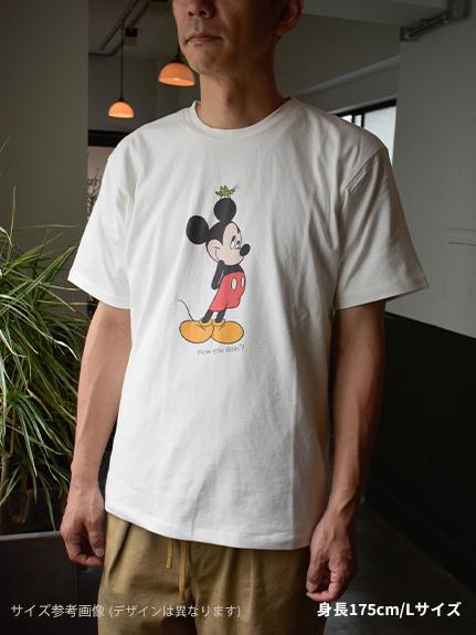 大人も!インセクトコレクション限定 DisneyデザインTシャツ<Pluto&Butterfly> オーガニックコットン使用