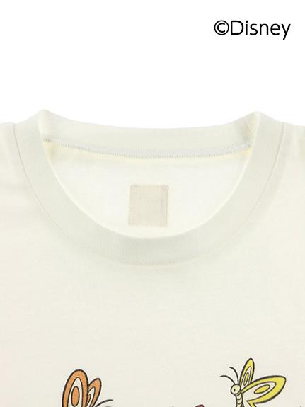 【予約商品】大人も!インセクトコレクション限定 DisneyデザインTシャツ<Chip'n Dale&Butterfly> オーガニックコットン使用【6月上旬発送予定】
