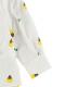 総柄刺繍シャツ ほたるさん ホワイト キッズ