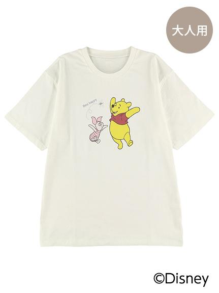大人も!インセクトコレクション限定 DisneyデザインTシャツ<Pooh&Piglet&Bee> オーガニックコットン使用