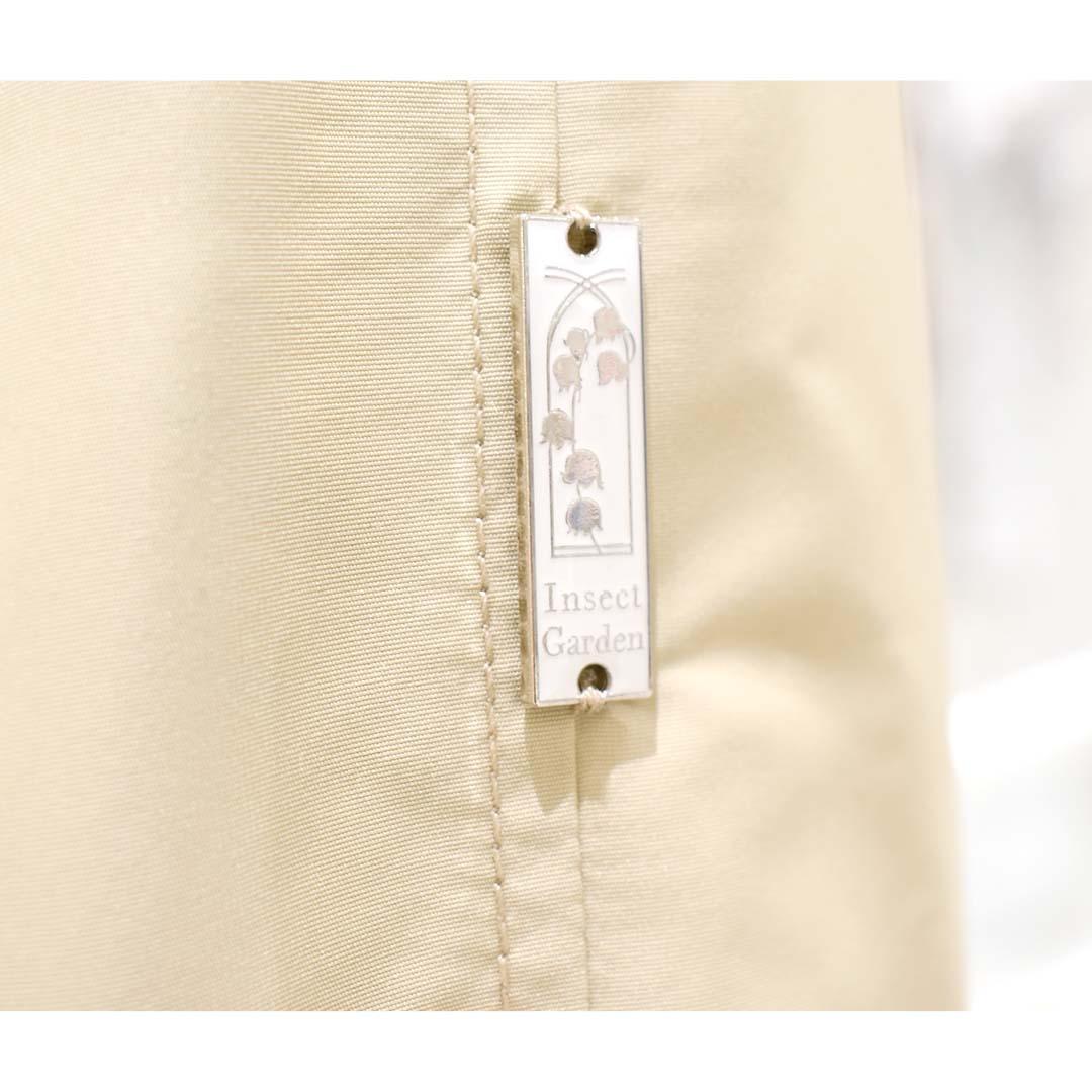 OTONA 裏地Encyclopedie 再生素材ロングトレンチコート beige