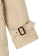 【予約商品】OTONA 裏地Encyclopedie 再生素材ロングトレンチコート beige【9月下旬発送予定】