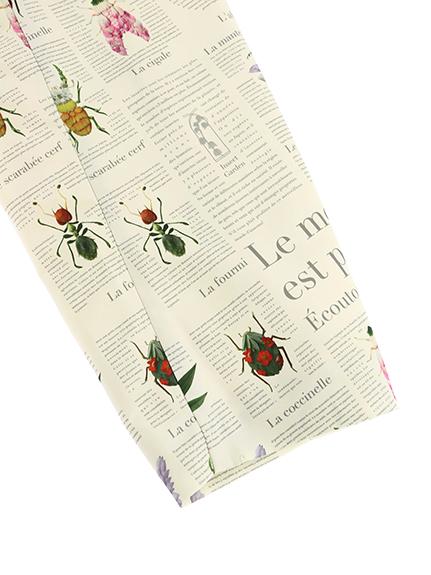 OTONA Encyclopedie撥水ロングジャケット トラディショナル beige