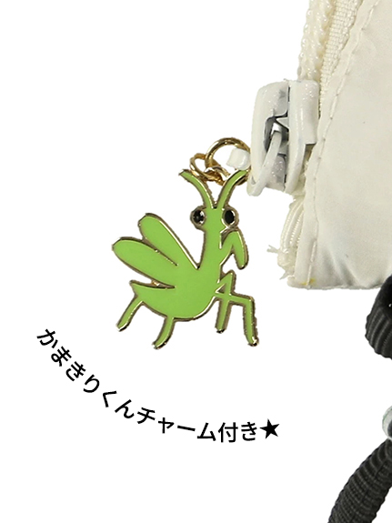 昆虫大集合サコッシュ オフホワイト