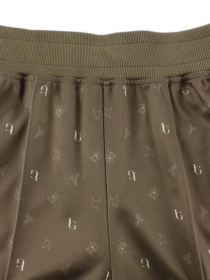 OTONA Monogramme 再生素材ジャージパンツ レディースサイズ beige