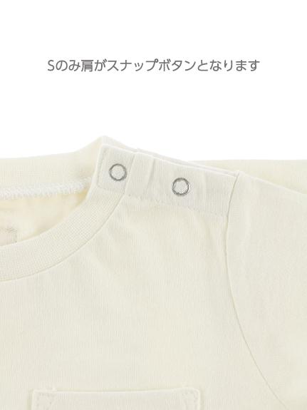 【予約商品】抗ウィルスなど高機能!太陽に当たると昆虫大脱走Tシャツ ホワイト オーガニックコットン使用【5月中旬発送予定】