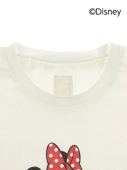 【予約商品】大人も!インセクトコレクション限定 DisneyデザインTシャツ<Minnie&Butterfly> オーガニックコットン使用【6月上旬発送予定】