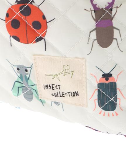 昆虫大集合シューズバッグ オフホワイト キッズ