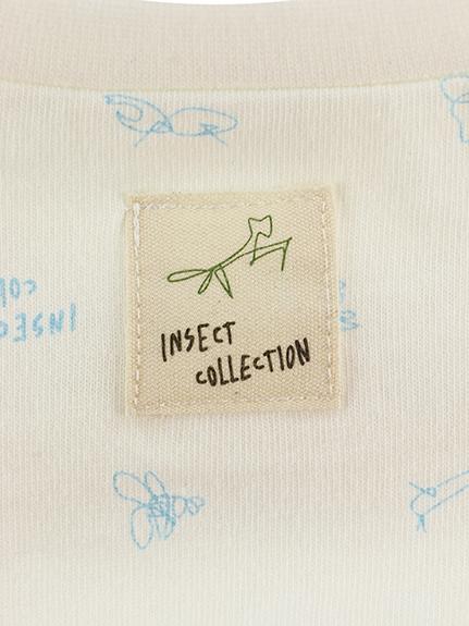 【予約商品】抗ウィルスなど高機能!ブルーモノグラムTシャツ サックス オーガニックコットン使用【4月下旬発送予定】