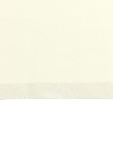 大人も!NO INSECT NO LIFE てんとうむしちゃん刺繍ラグラン長袖Tシャツ レッド オーガニックコットン使用