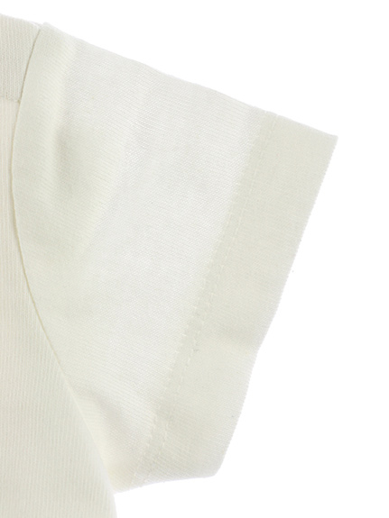 【予約商品】インセクトコレクション限定 DisneyデザインTシャツ<Mickey&Ladybug> ホワイト オーガニックコットン使用【5月下旬発送予定】