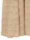 OTONA Green Houseプリント再生素材ロングワンピース beige