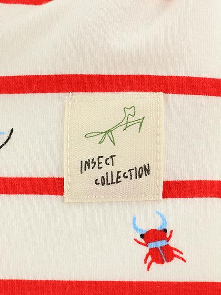 12昆虫大集合 抗菌・防臭ボーダーレギンス