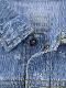 昆虫サイン・モノグラム 総刺繍プレミアムデニムジャケット インディゴ
