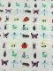 【数量限定】昆虫大集合エプロン ホワイト