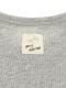 昆虫大集合 総刺繍カーディガン グレー キッズ オーガニックコットン使用