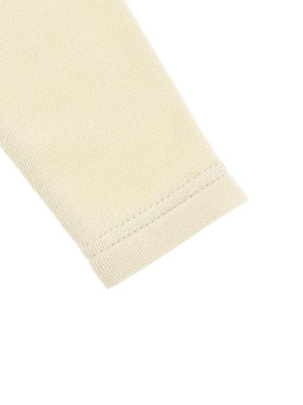 昆虫大集合 総刺繍カーディガン アイボリー キッズ オーガニックコットン使用