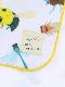 【予約商品】12昆虫大集合ハンドタオル ホワイト