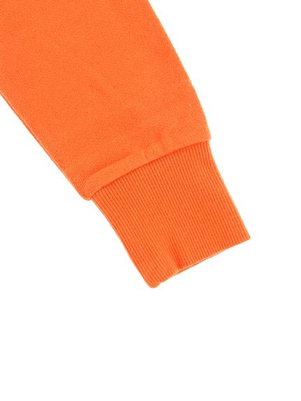 スタンドジップジャケット ほたるさん オレンジ キッズ