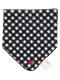 お名前タグ付きループ・スタイ刺繍タオル ブラック キッズ