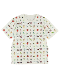 大人も!抗ウイルス・抗菌・防汚・消臭12昆虫大集合Tシャツ ホワイト オーガニックコットン使用