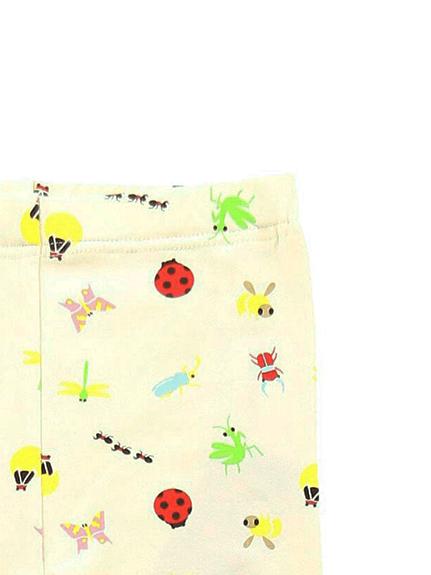 昆虫大集合レギンスパンツ アイボリー キッズ