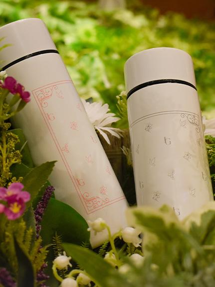 Insect Garden モノグラム エコボトル rose