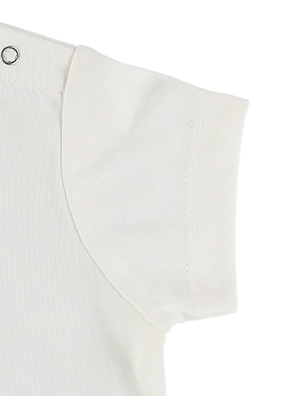 KODOMO SDGs Message Tシャツ 100%再生ペットボトル ホタル blanc