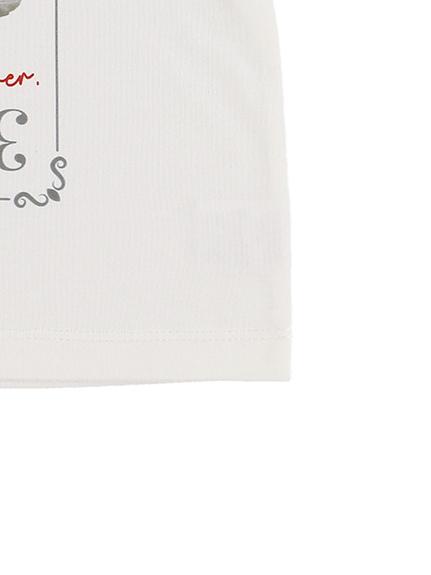 KODOMO SDGs Message Tシャツ 100%再生ペットボトル カマキリ blanc
