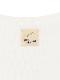 大人もてんとうむしちゃんプリントTシャツ ホワイト オーガニックコットン使用