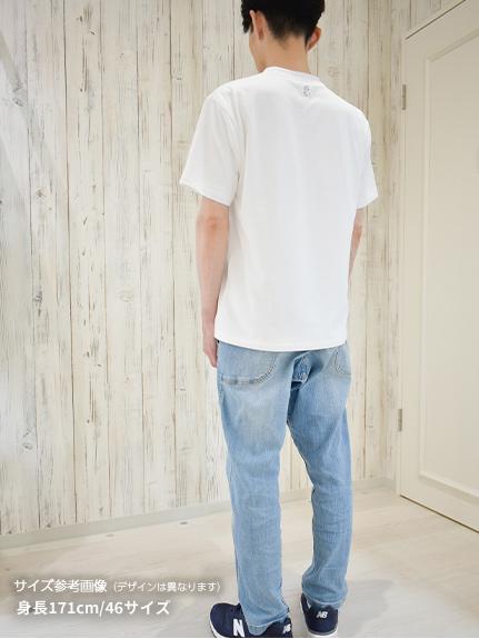 OTONA Nombre プリント100%再生ペットボトルTシャツ テントウムシ7 blanc